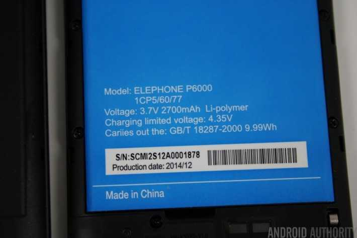 Elephone P6000 обзор