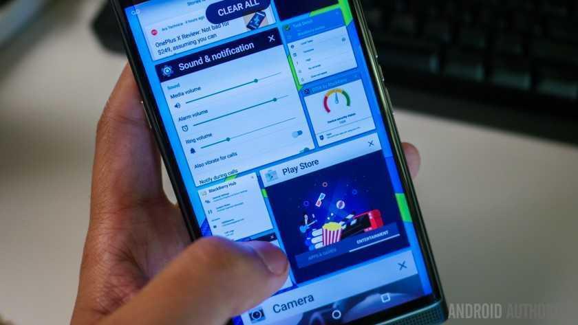 Обзор BlackBerry Priv 16