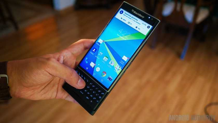 Обзор BlackBerry Priv 19