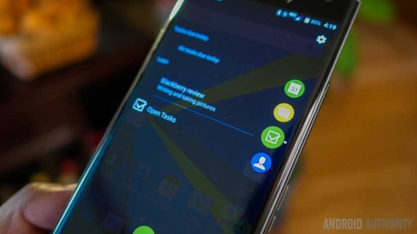 Обзор BlackBerry Priv 20