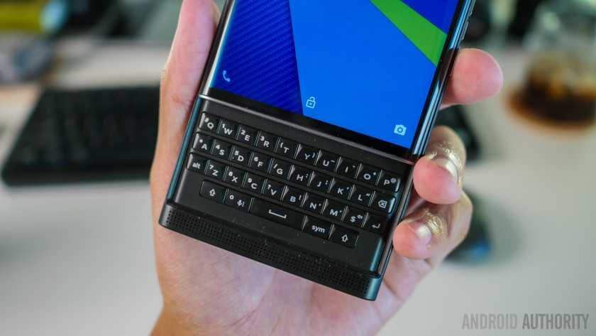 Обзор BlackBerry Priv 5