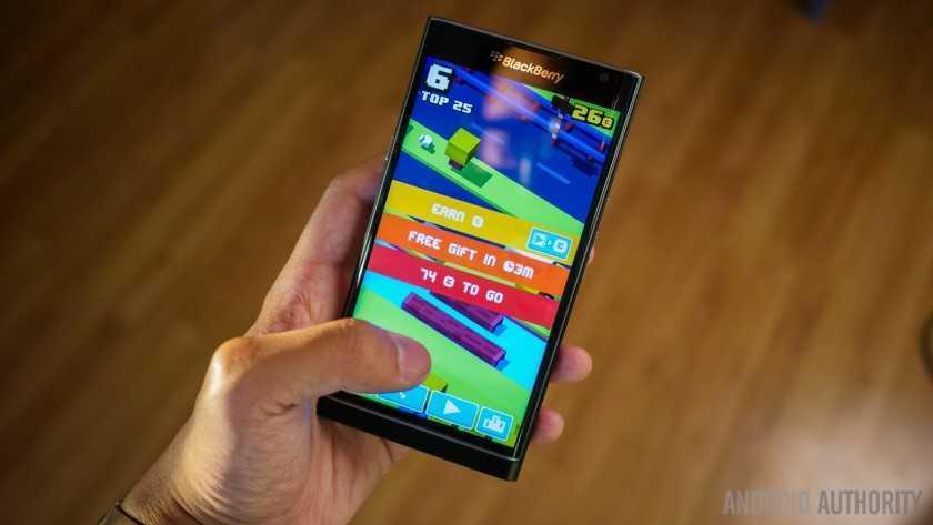 Обзор BlackBerry Priv 7