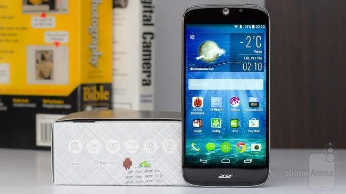 Обзор Acer Liquid Jade S: Тонкий и быстрый