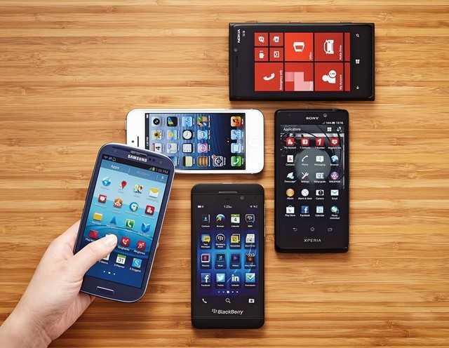 Продажи смартфонов и мобильников в 2014 году выросли на 20 процентов