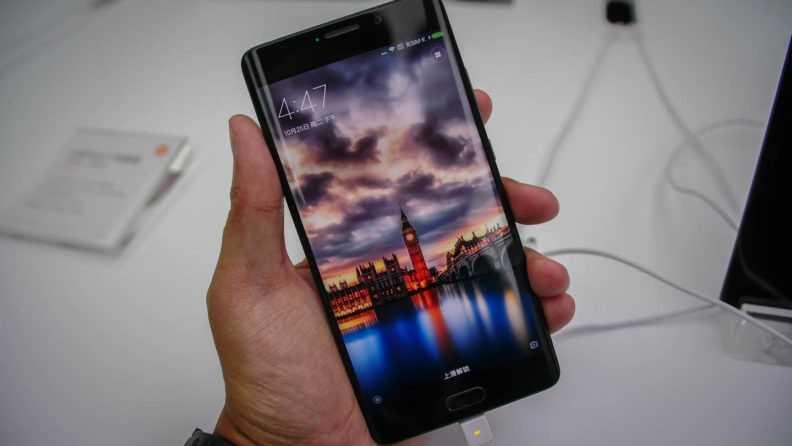 Xiaomi Mi Note 2 - Первый взгляд